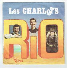 """Les CHARLOTS Disque Vinyle 45 tours 7"""" EN AMERIQUE - RIO - VOGUE 1110 RARE"""