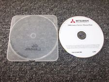 2006 Mitsubishi Lancer Shop Service Repair Manual DVD ES SE O-Z Rally Ralliart