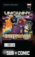 UNCANNY INHUMANS #1 SCOTT HIP HOP VARIANT (MARVEL 2015 1st Print) COMIC
