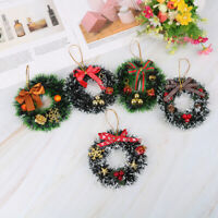 Christmas Wreath Decor For Xmas Home Party Door Wall Garland Flower Ornaments