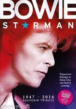 David Bowie Souvenir Tribute 1974-2016 *Bowie - Starman* Includes Unseen Images