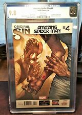 Amazing Spider-Man #4 (2014) 1st App of Silk CGC 9.8 White Pages Marvel