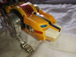 Vintage 1981 Voltron Lion Force Diecast Yellow Lion Y&K Toy Japan TOEI Popy