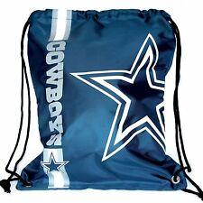 Dallas Cowboys Drawstring Bag NFL Football Licensed Backpack Gym Tote
