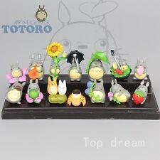 Studio Ghibli My Neighbor Totoro Character Figures Collection Set 14pcs Figurine