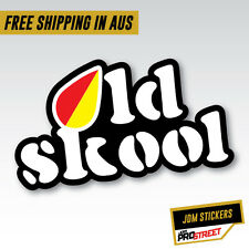 OLD SKOOL LEAF JDM CAR STICKER DECAL Drift Turbo Euro Fast Vinyl #0693