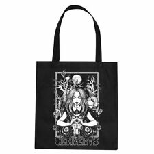 Cerbervs Clothing Stofftasche Occult Alice-Wonderland-Gothic-Moon-WGT-NUGOTH-NEU