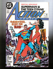 Action Comics #584-595 Full Year of Action Comics! All Action Comics from 1987