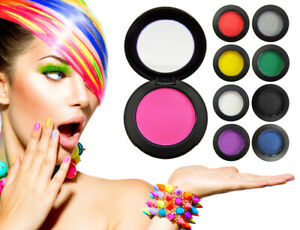 Haarkreide zum temporären Haare färben - Tolle Farben in der praktischen Dose