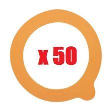 50 JOINTS RONDELLE CAOUTCHOUC  bocaux terrines 0,5l 1l 2l diam. 85MM LE PARFAIT