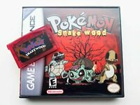 Pokemon Snakewood Game / Case Nintendo Game Boy (GBA) -(English Fan Hack)