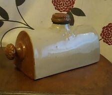 Vintage Stoneware Hot Water Bottle     (pt3)