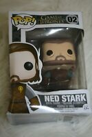 Funko Pop! Television: Game of Thrones-Ned Stark Vinyl Figure #02-Damaged Box