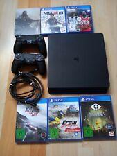 Sony PlayStation 4 Slim 500GB Konsole inkl. 2 Controller + 6 Spiele *gebraucht*