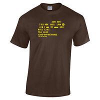 Royal Marines Commando 7.62mm Mixed Link T-Shirt, British Army, Military,