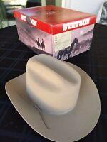Stetson Sun Guard ® Duck Ivy FlatCap Casquette Casquette Texas Organic 76 Beige NEUF
