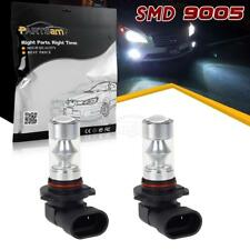 2pcs 9005 H10 HB3 High Power 60W LED Bulb White 6000K Fog Driving Light