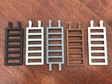 2x Lego Ladder Dark Grey, Light Grey, White, Black or Brown