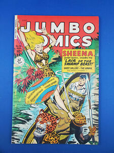 JUMBO COMICS 126 F VF FICTION HOUSE 1949 SHEENA