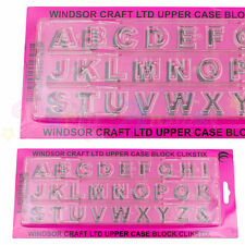 Windsor Clikstix block majuscules Capital Letter Cutter