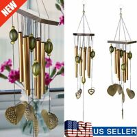 8/9 Tubes Bells Large Wind Chimes Metal Church Bell Outdoor Garden Decor US