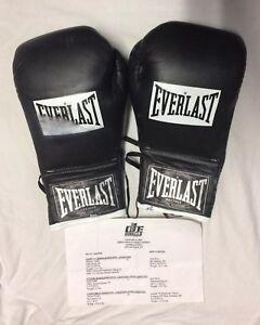 Jermaine Taylor FIGHT WORN  Boxing Gloves vs Alex Rios 2004