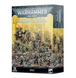 Combat Patrol Orks Warhammer 40K NIB