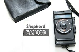 Shepherd FM1000 Electronic Flash Meter, Case and Instruction Manual.
