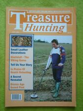 TREASURE HUNTING - JULY 2001 - HNEFATAFL - THE VIKING GAME - BRONZE AGE SWORD