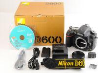 【TOP MINT 8124 Low Shutter Count】NIKON D600 24.3MP Full Frame Camera +BOX JAPAN