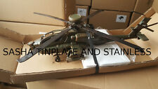 APACHE helicopter tin toy tinplate handmade replica metal model blechmodell