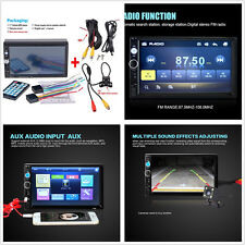 7'' Car Radio Bluetooth Stereo HD Touch Screen MP5 Player MP3/MP4 Handsfree Call