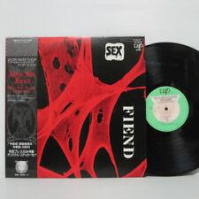 Alien Sex Fiend – Who's Been Sleeping In My Brain LP 1984 JAPAN PUNK w/ sticker