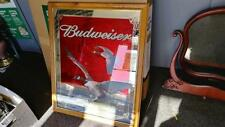 Vintage 2001 Authentic Budweiser Beer Canadian Geese Large Framed Mirror 34 x 28