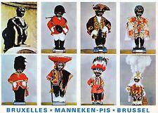 Belgium Postcard - Bruxelles - Manneken Pis - Brussel    SM197