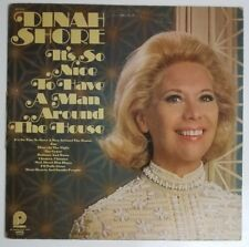 Dinah Shore Its So Nice to Have A Man Around the House LP SPC 3524