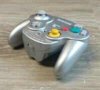 OEM Nintendo GameCube Wavebird Controller Gray dol-004 *MISSING BATTERY COVER*