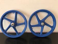 "1980's Nos Original OGK Japan Mag Skyway 16"" Mini Burner BMX Wheels Suzue Hubs"