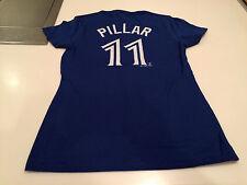 Toronto Blue Jays Kevin Pillar X-Large Name Number Blue T Shirt Ladies Women MLB