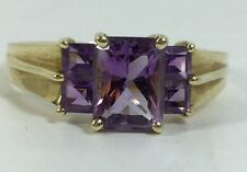 Amethyst Ladies Ring Solid Gold (J108)