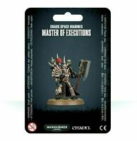 Master of Executions Chaos Space Marines Black Legion Warhammer 40K NIB Blister