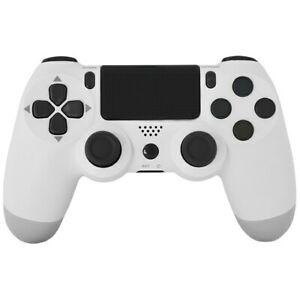 For PS4 Controller Wireless Playstation 4 White Double w/ charger US SHIPPER