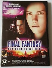 FINAL FANTASY THE SPIRITS WITHIN DVD 2005 (#DVD00286)
