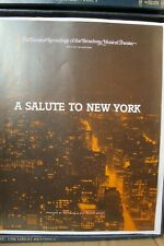 Franklin Mint Broadway Collection Salute to New York