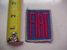 FIAT  sew on patch
