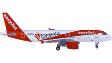 1:400 JC Wings easyJet AIRBUS A320 Passenger Airplane Diecast Aircraft Model