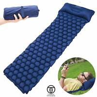 TREK GEAR Ultralight Inflatable Sleeping Air Mattress and Pillow Outdoor Camping