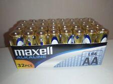 Pilas alcalinas AA - 32 pilas - Maxell LR6