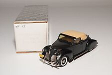 / DURHAM DC-8 DC 8 LINCOLN ZEPHYR 1938 MET. DARK GREEN 17TH SHOW MINT BOXED RARE