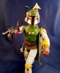 "Star Wars Vintage Boba Fett 12"" Action Figure  COMPLETE AND MINT"